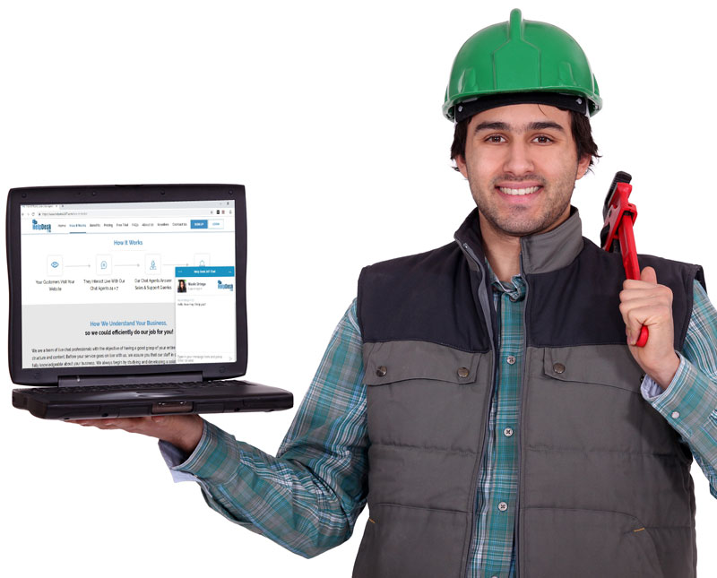 How a Poor Plumber Grew His Business Successfully Online